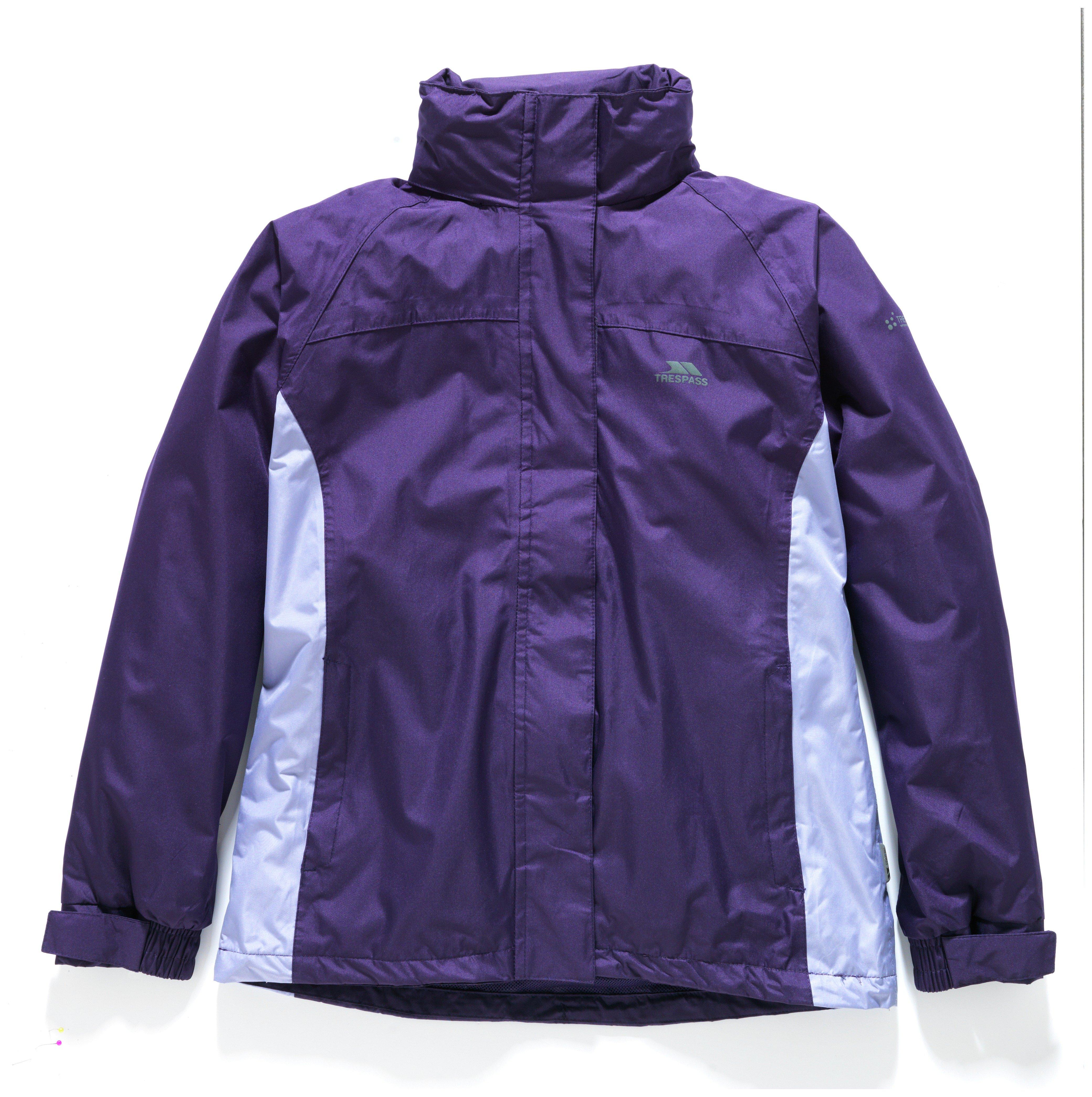 Image of Trespass Purple Waterproof Jacket - Extra Large