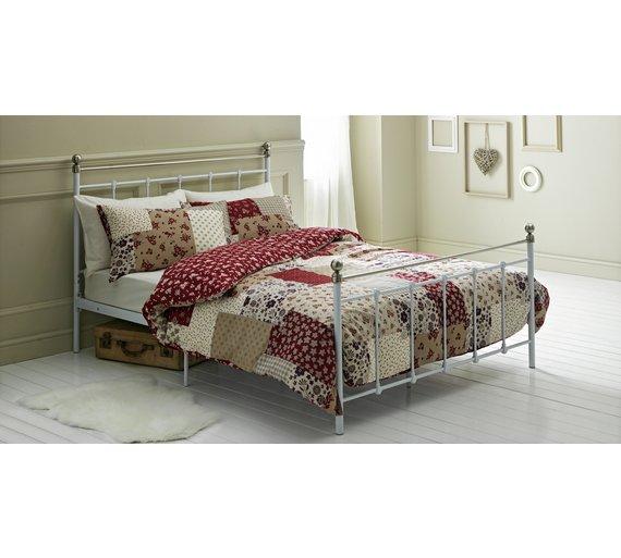 buy home red patchwork bedding set double at. Black Bedroom Furniture Sets. Home Design Ideas
