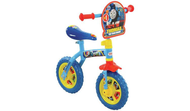Thomas & Friends 2 in 1 10 inch Wheel Size Kids Trainer Bike