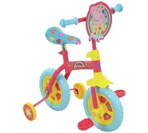 Buy Peppa Pig 2 In 1 10 Inch Trainer Bike At Your
