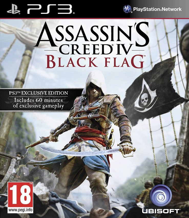 Image of Assassin's Creed - 4 - Black Flag - PS3 Game