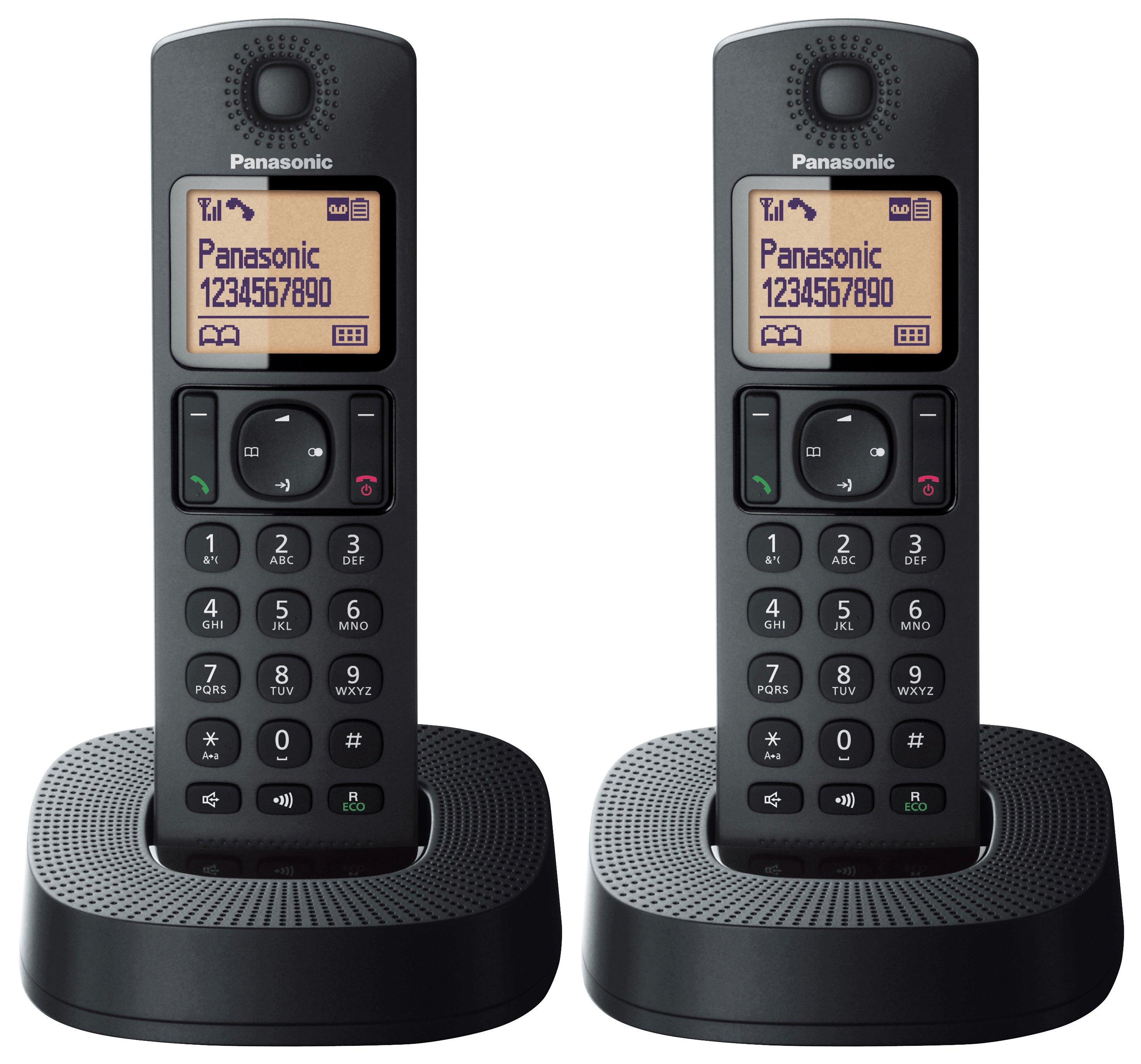 Panasonic Panasonic - TGC322 - Cordless Telephone & Answer Machine-Twin