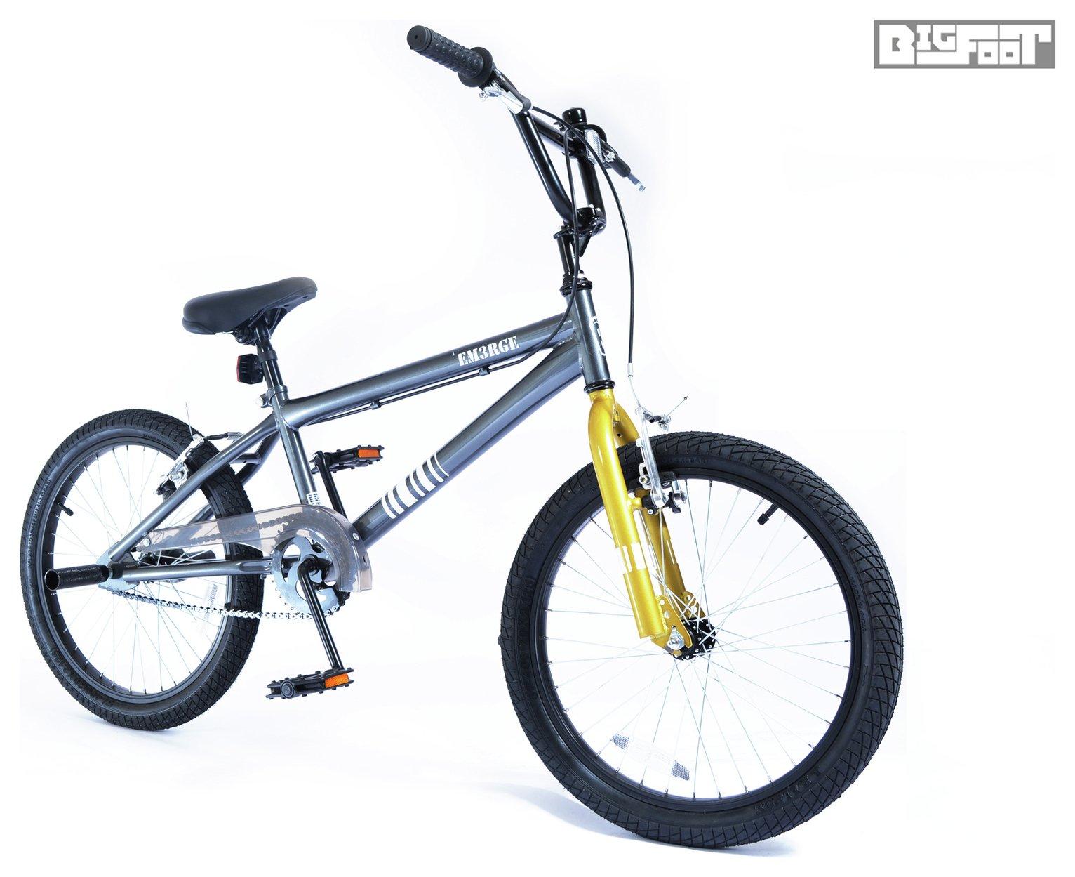 Silverfox Bigfoot EM3RGE 20 Inch BMX Bike