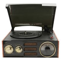 GPO - Empire Turntable with Built In Radio