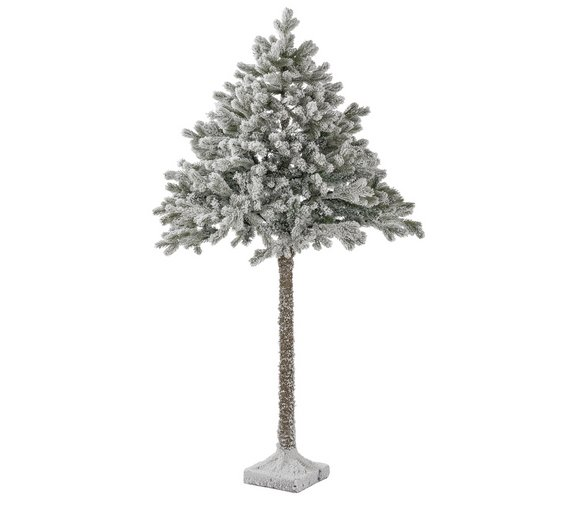 Click to zoom - Buy Argos Home 6ft Snowy Half Christmas Tree - Green Christmas
