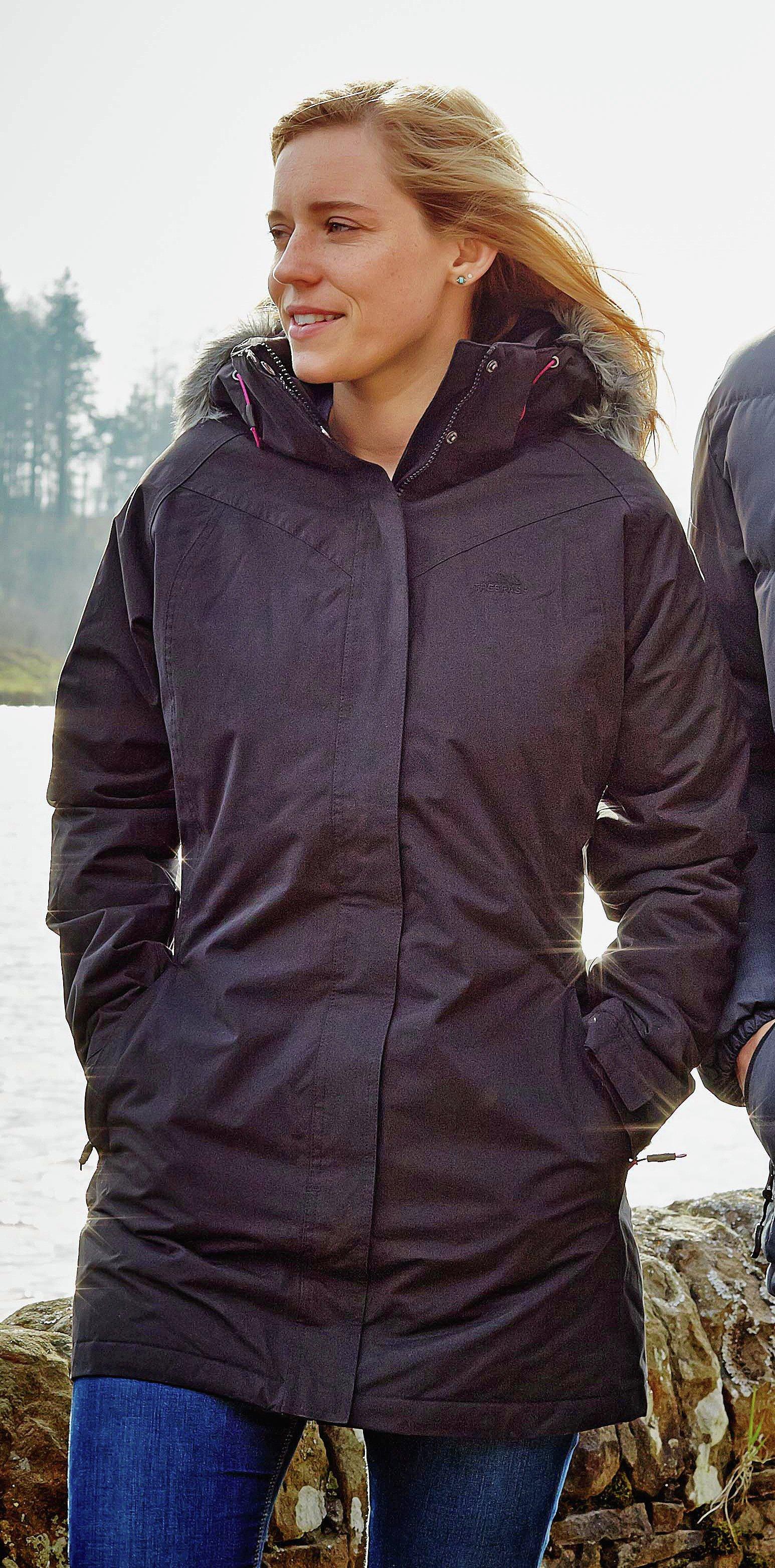 Trespass Black Parker Jacket - Extra Large
