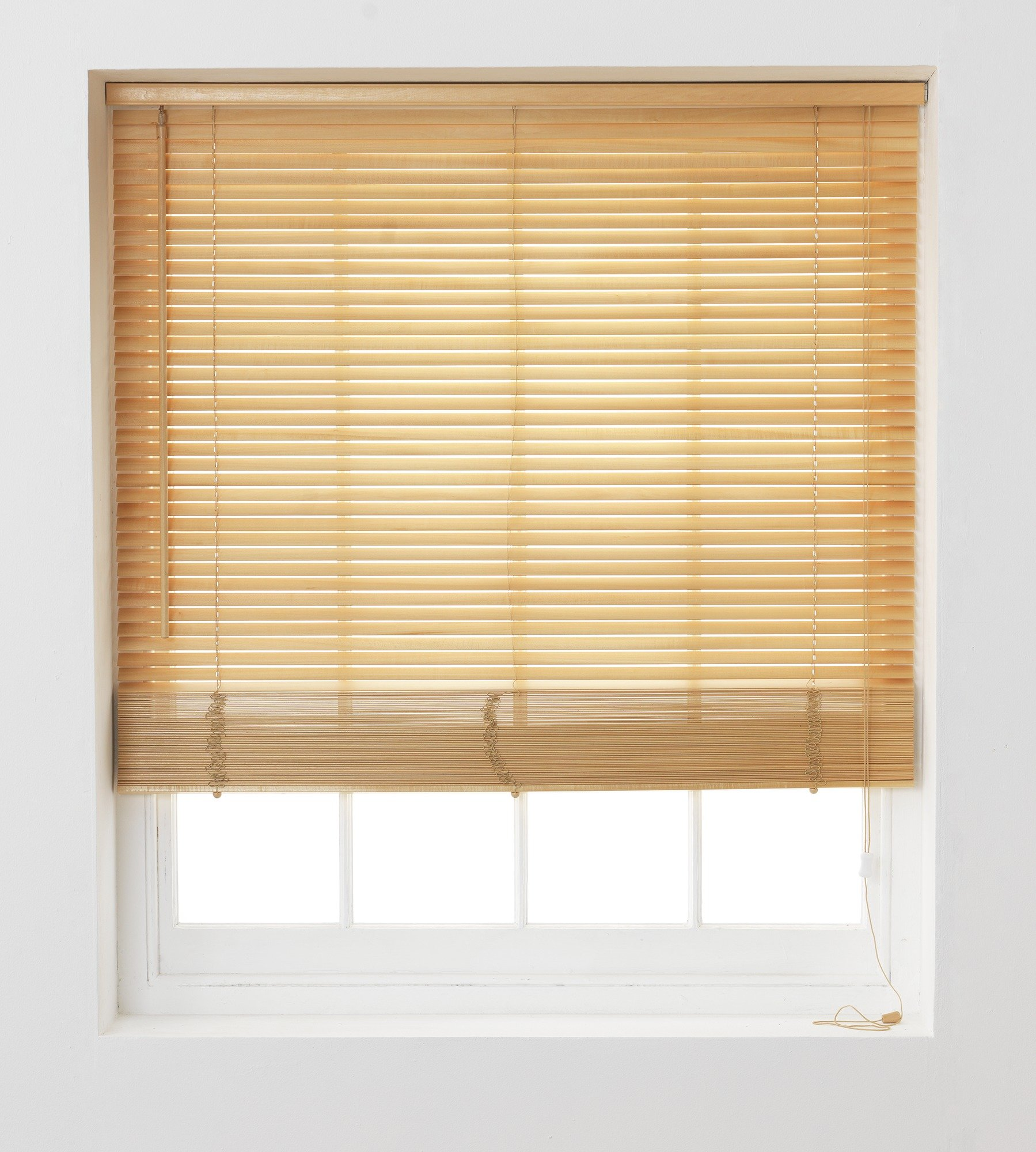 Buy Argos Home Wooden Venetian Blind 4ft Natural Blinds Argos