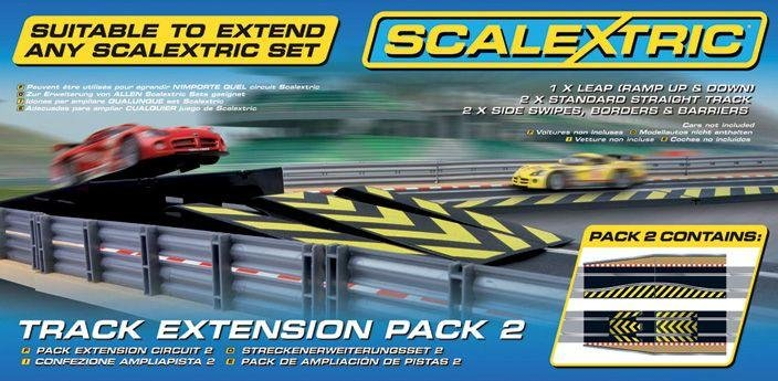 Scalextric Track Extension Pack 2   Leap Track Accessory.