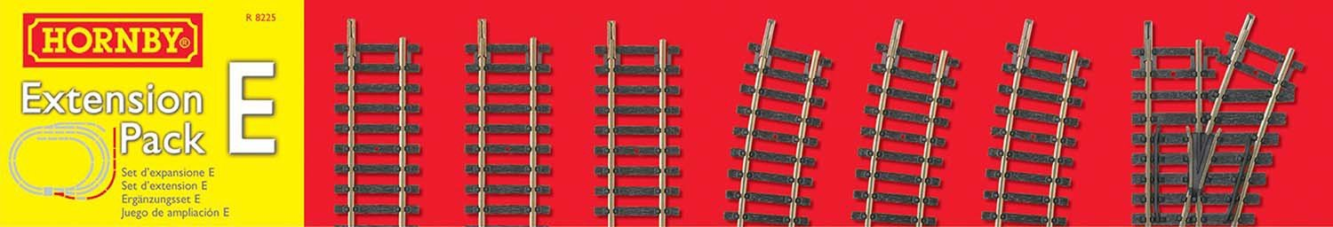 Image of Hornby - Extension Pack E 00 Gauge Track Accessory.