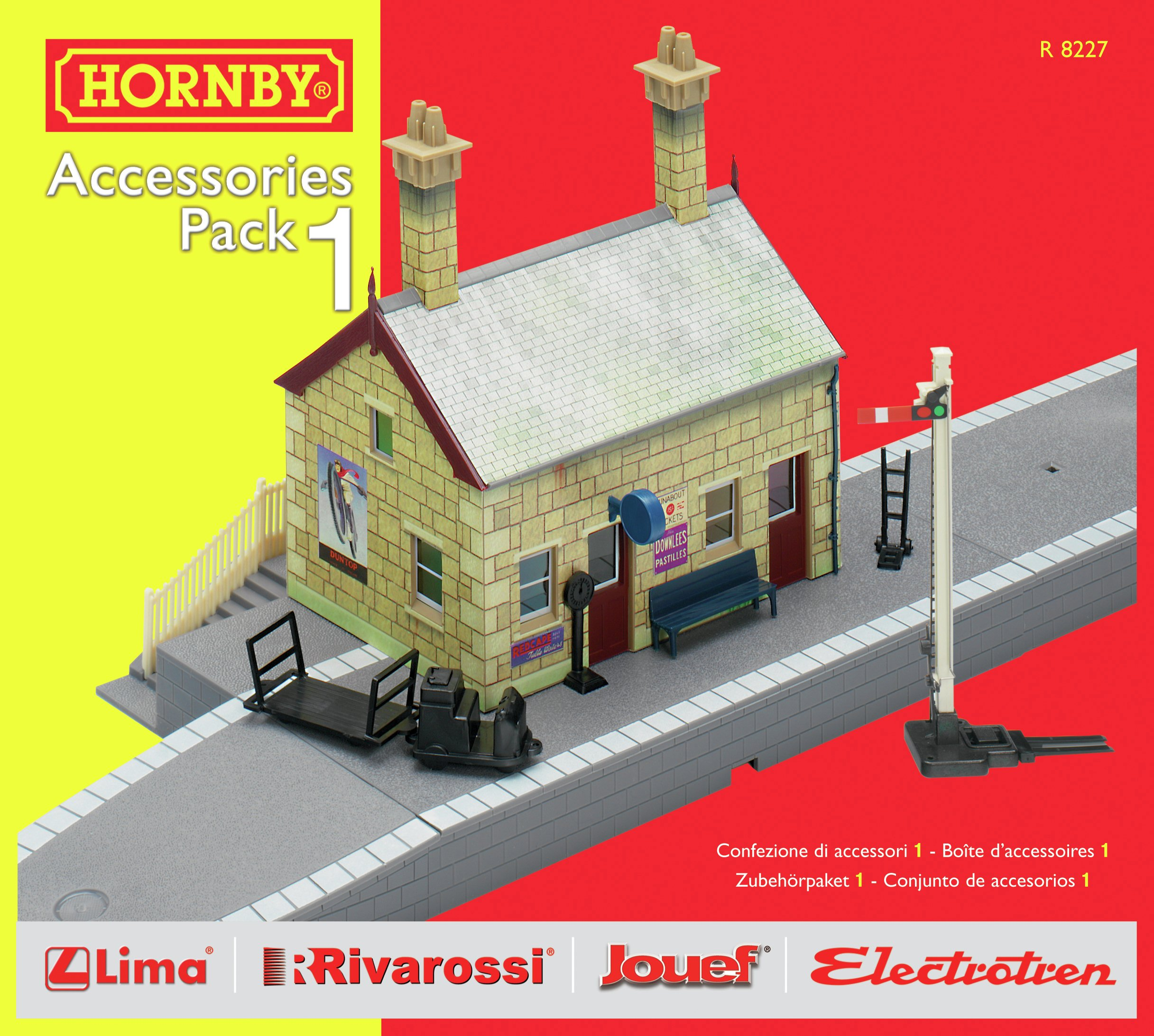 Image of Hornby - Building Extension Pack 1 00 Gauge Track Accessory.