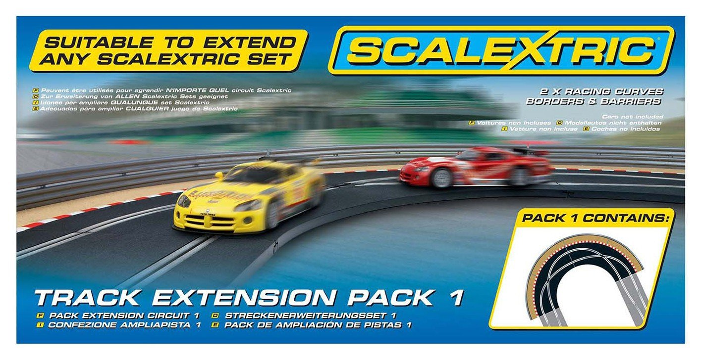 Scalextric - Track Extension Pack 1 - Racing Curve 1:32.