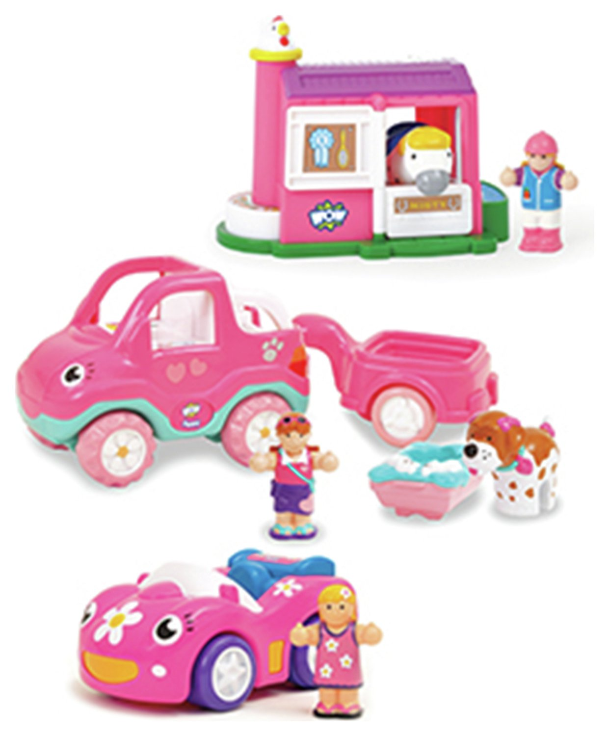 WOW Toys Girls' Day Out 3 in 1 Multipack.