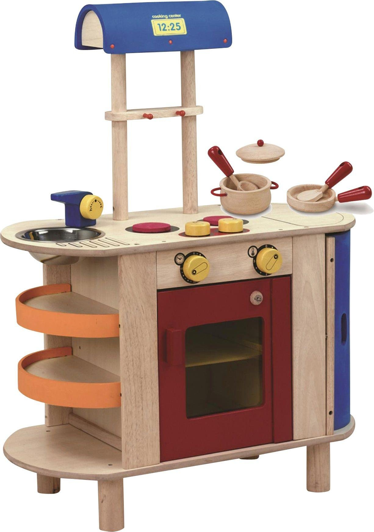 Image of Wonderworld Cooking Centre with Free Cooking Set.