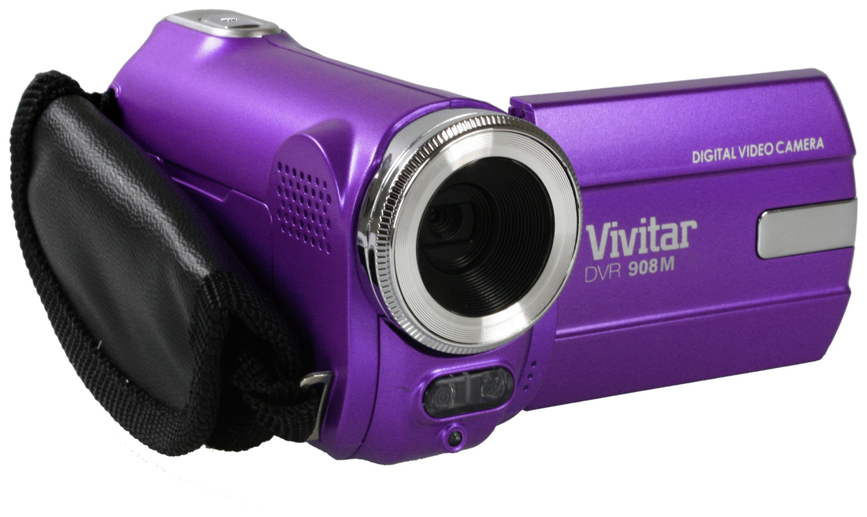 Vivitar DVR908M Full HD Camcorder - Purple
