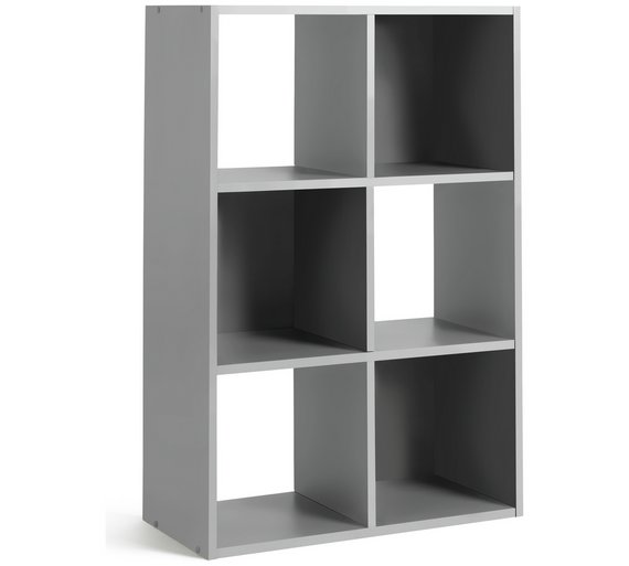 buy argos home squares 6 cube storage unit putty. Black Bedroom Furniture Sets. Home Design Ideas