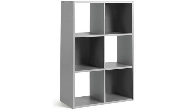 Habitat Squares 6 Cube Storage Unit - Grey