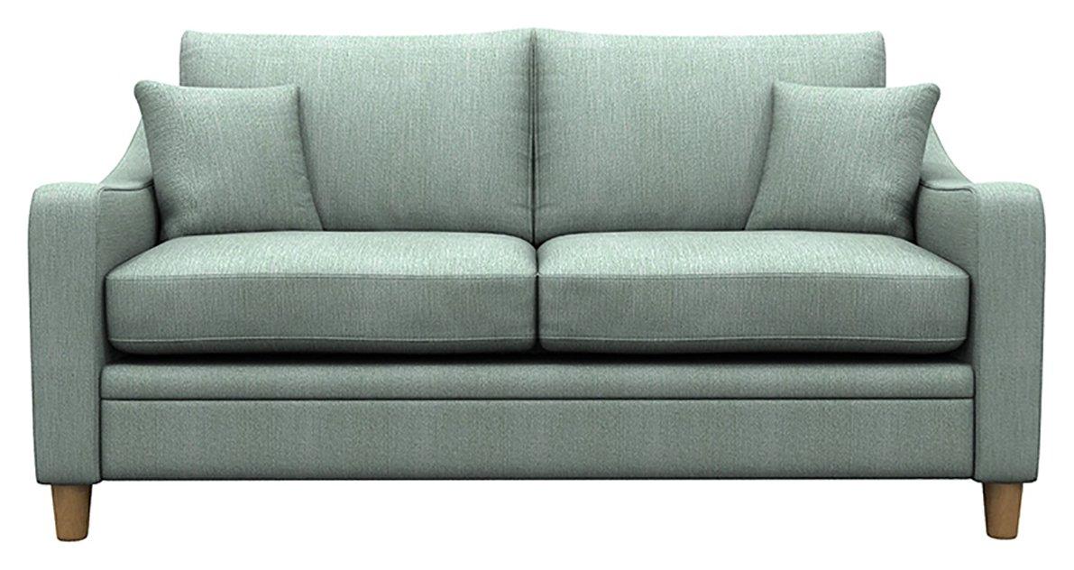 Heart of House Newbury 2 Seater Fabric Sofa Bed - Blue