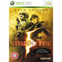 Resident Evil 5 Gold Edition - Xbox - 360 Game.