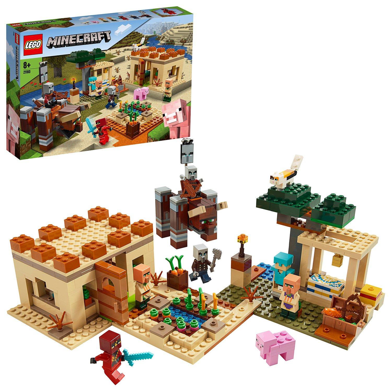 LEGO Minecraft The Illager Raid Building Set - 21160