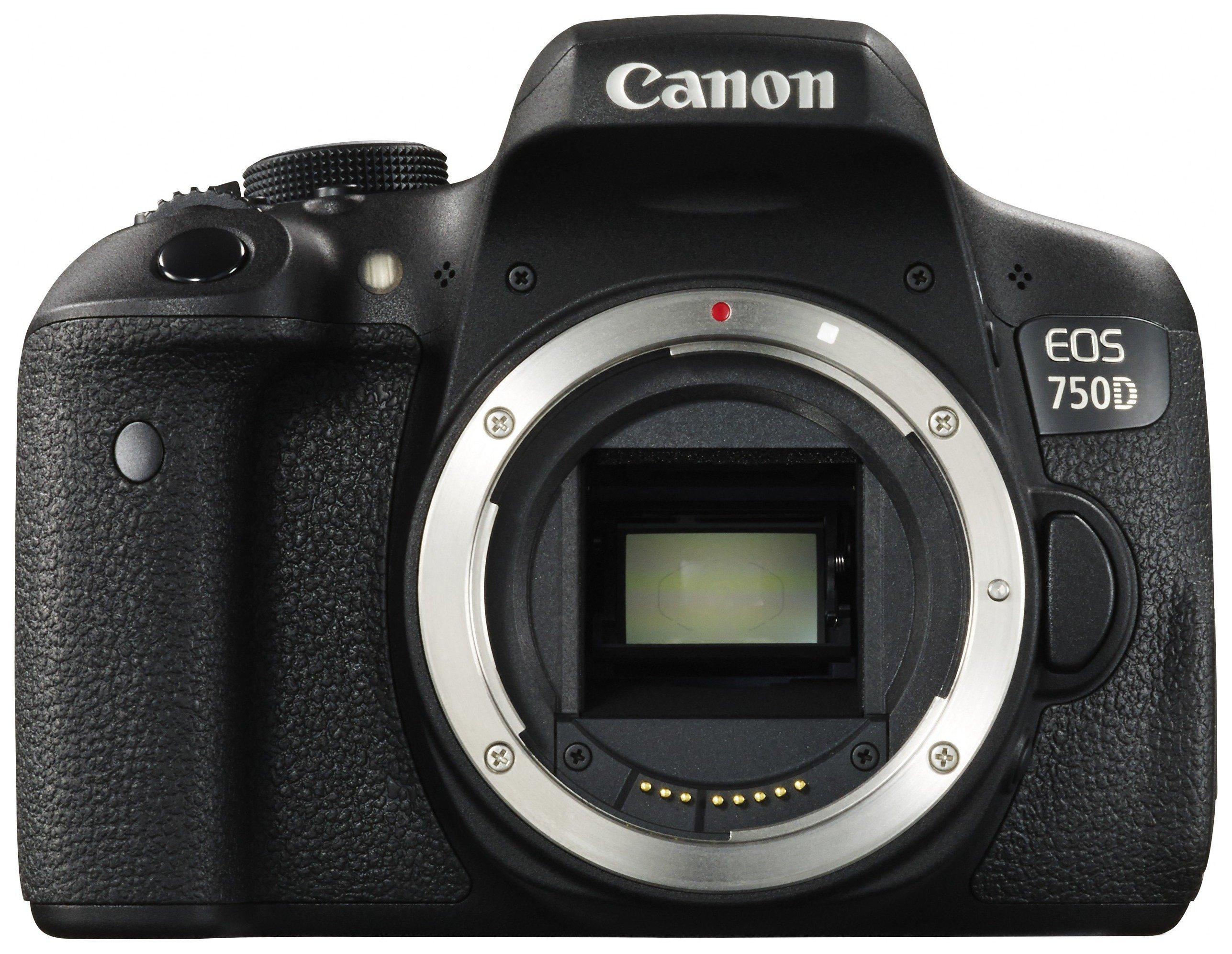 Canon EOS 750D DSLR Camera 24.2MP - Body Only