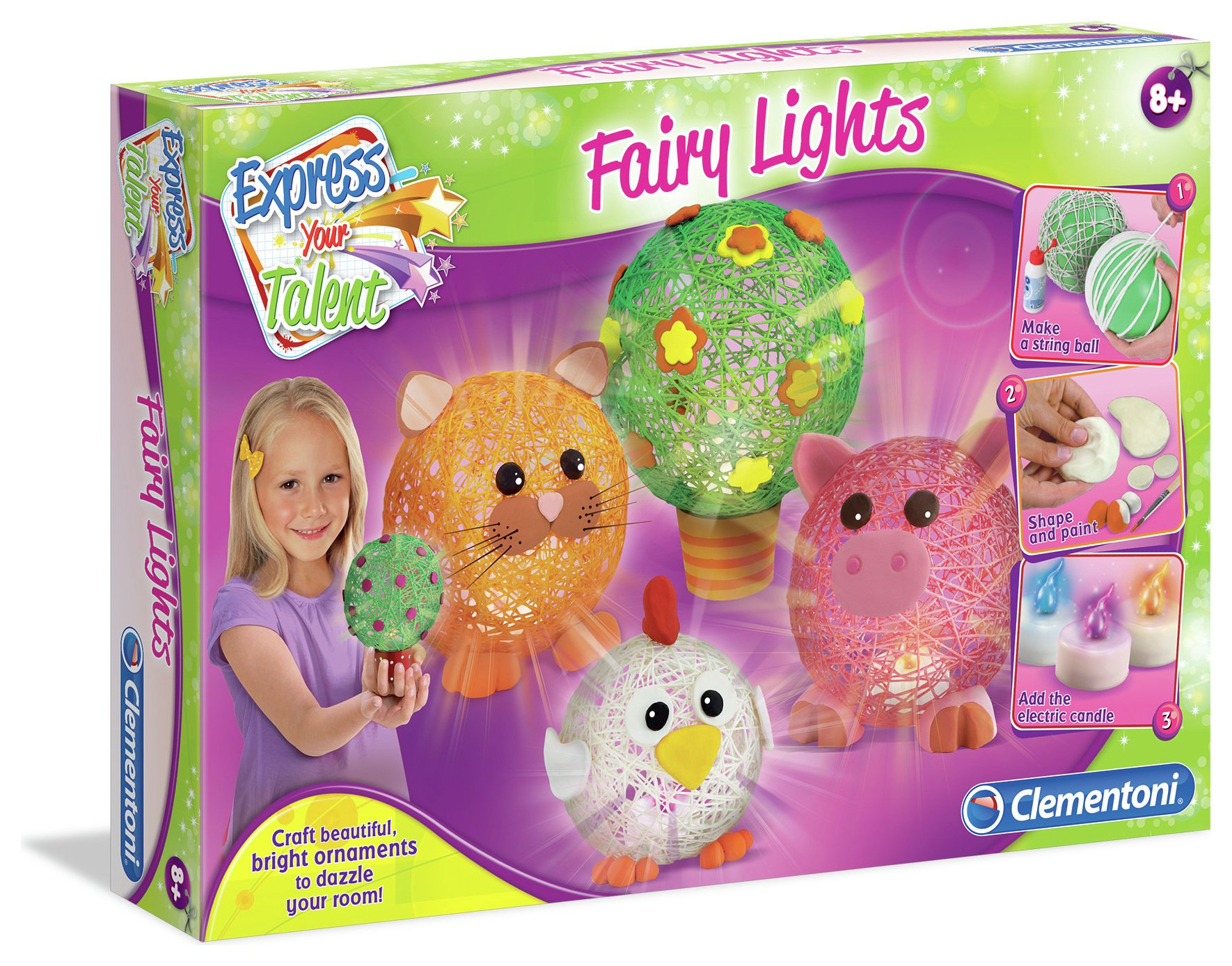 Image of Clementoni Express Your Talent - Fairy Lights.