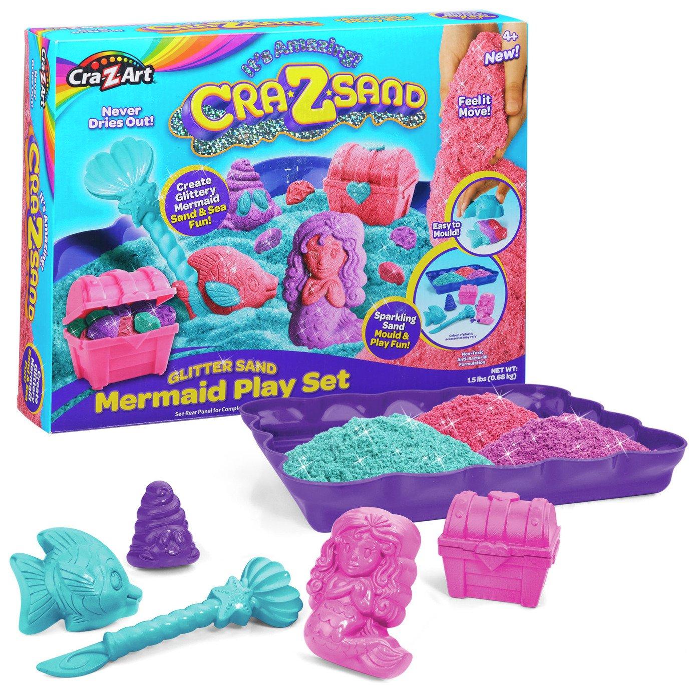 Image of Cra-Z-Sand Mermaid Playset