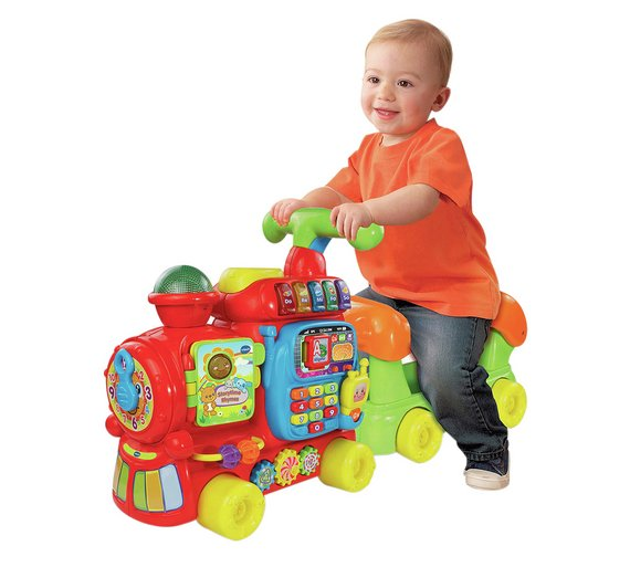Buy vtech push and ride alphabet train at - Andador toysrus ...