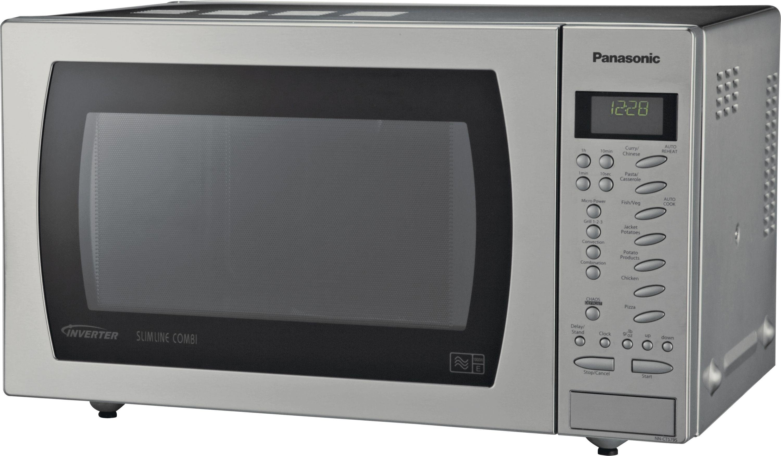 Panasonic - Combination Microwave - NN-CT585S 27L 1000W Touch Microwave -SS