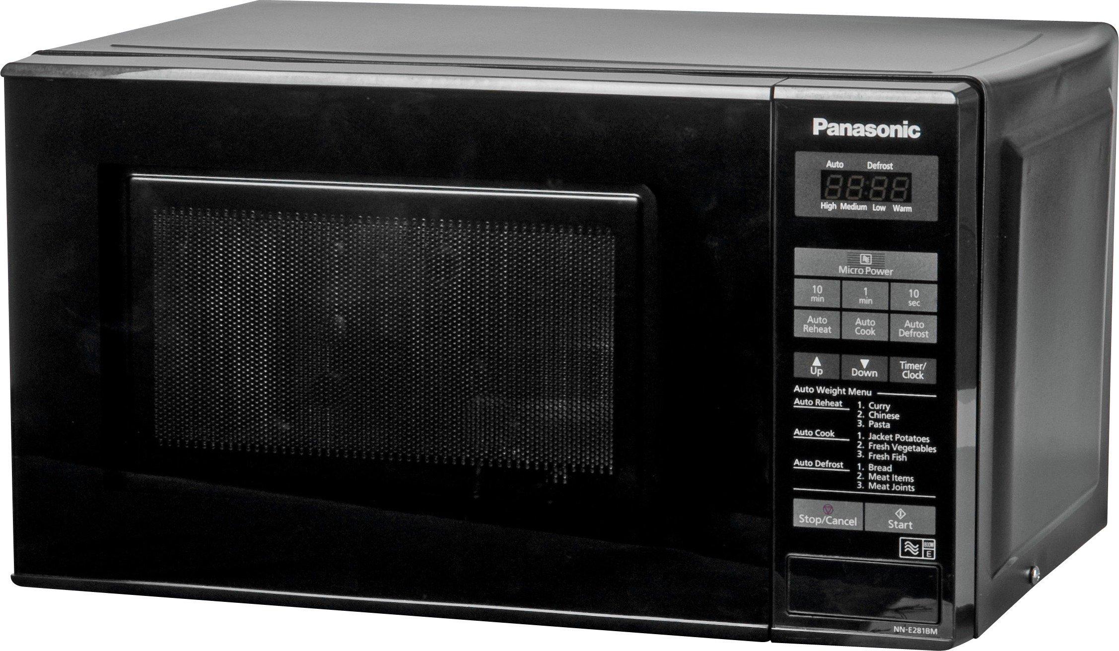 'Panasonic - Standard Microwave -nn-e281bmbpq -black