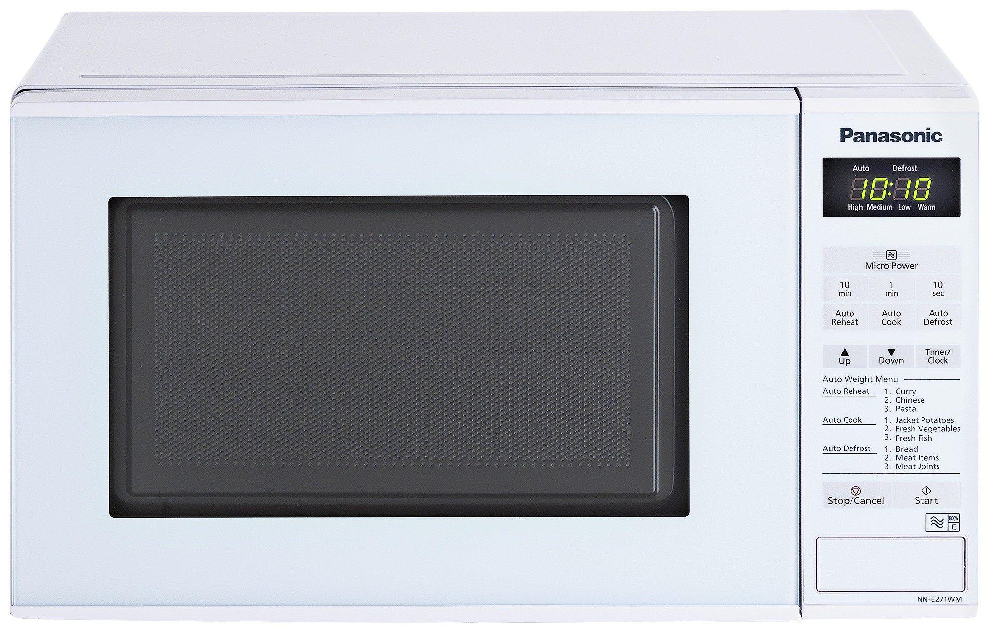 'Panasonic - Nn-e271wmbpq 800w Standard Microwave - White