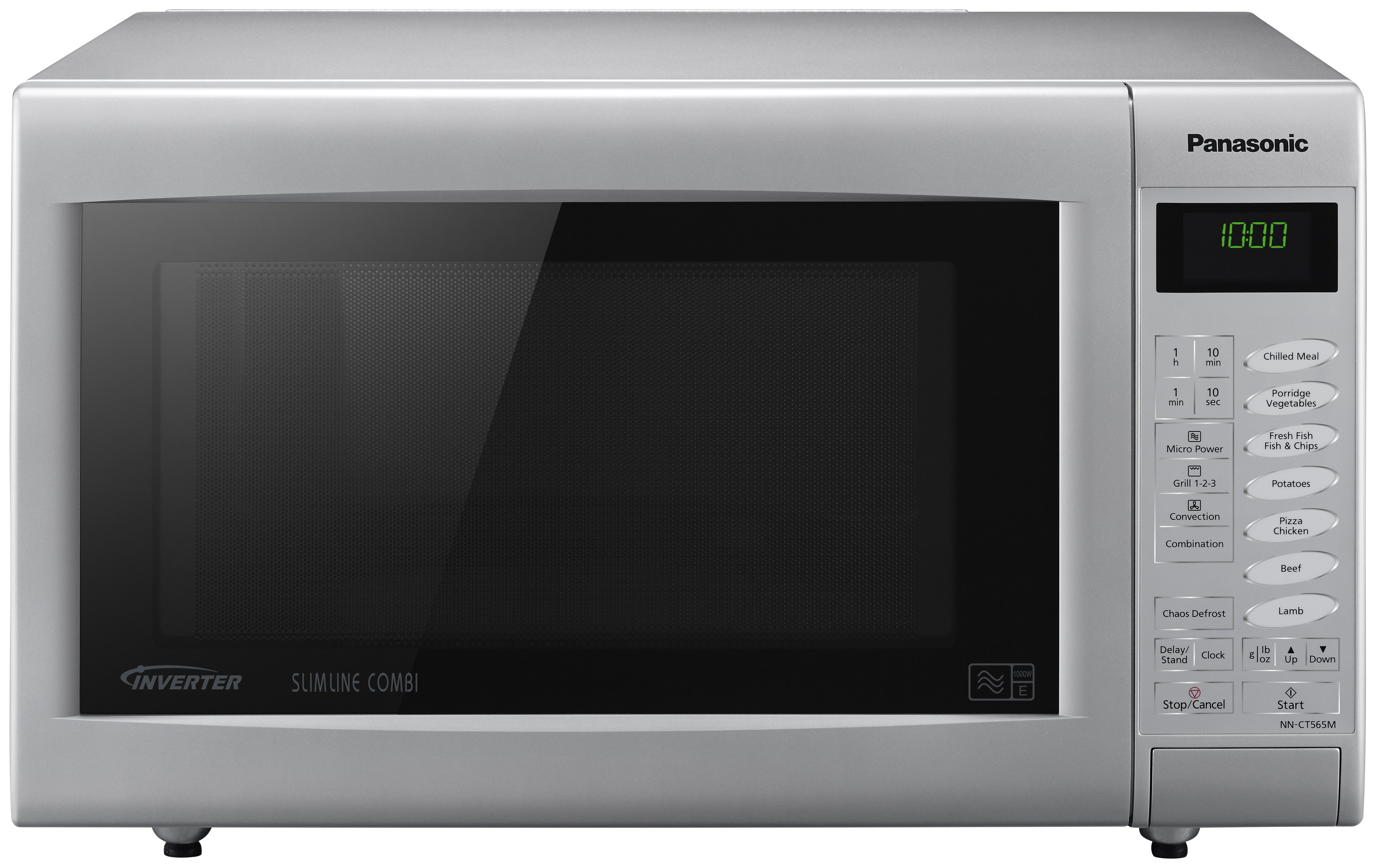 Panasonic - Combination Microwave - NN-CT565M 27L Touch -Silver