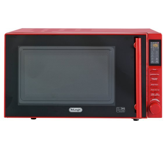 DeLonghi - Microwave - P90D 23L 900W Standard Easi-Tronic - Red