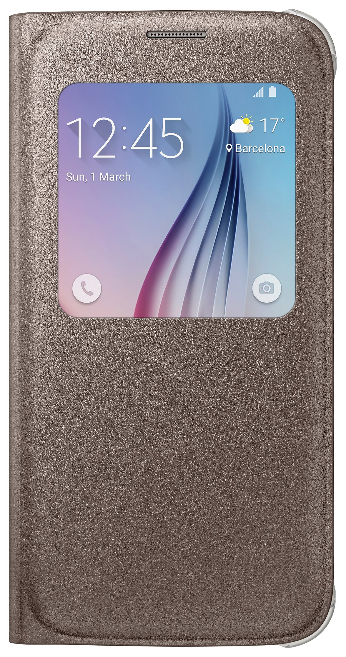 Samsung Samsung Galaxy S6 S-View Cover - Gold