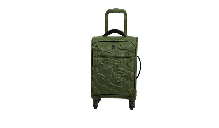 it Luggage Children's Dinosaur 4 Wheel Soft Cabin Suitcase