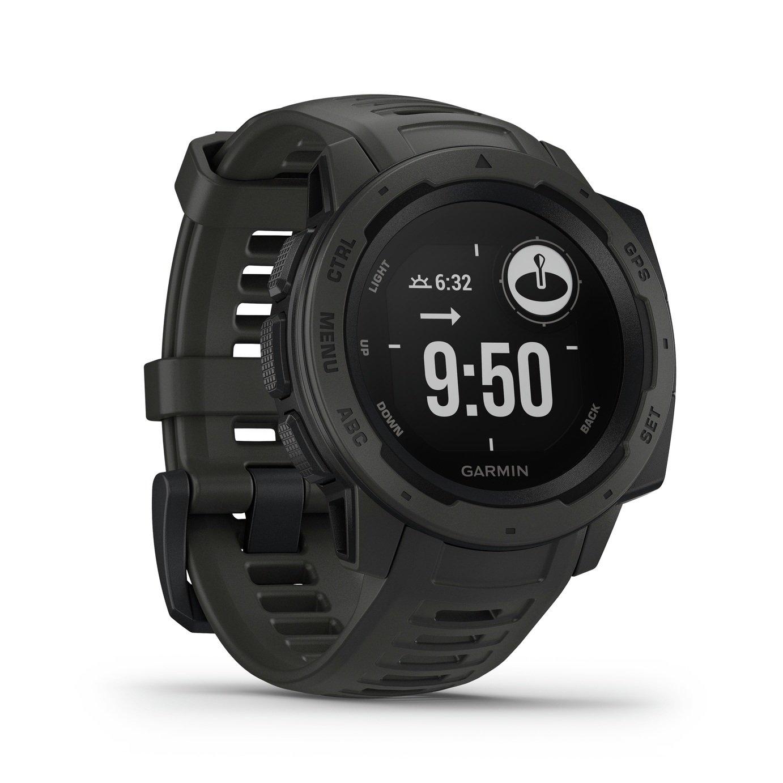 Garmin Instinct GPS Fitness Tracker - Graphite