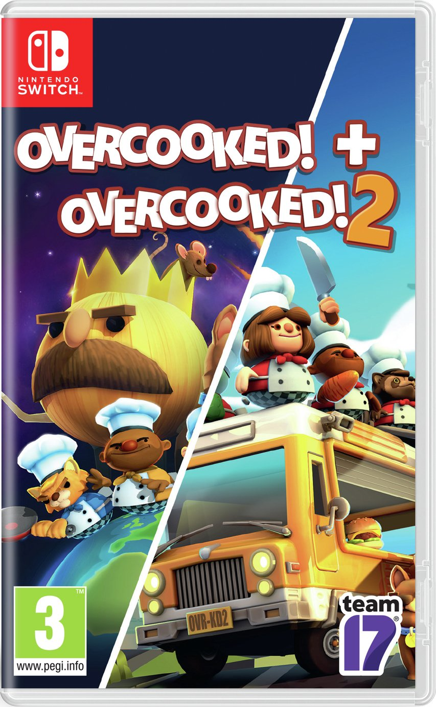 Overcooked 1 and 2 Double Pack Switch Game