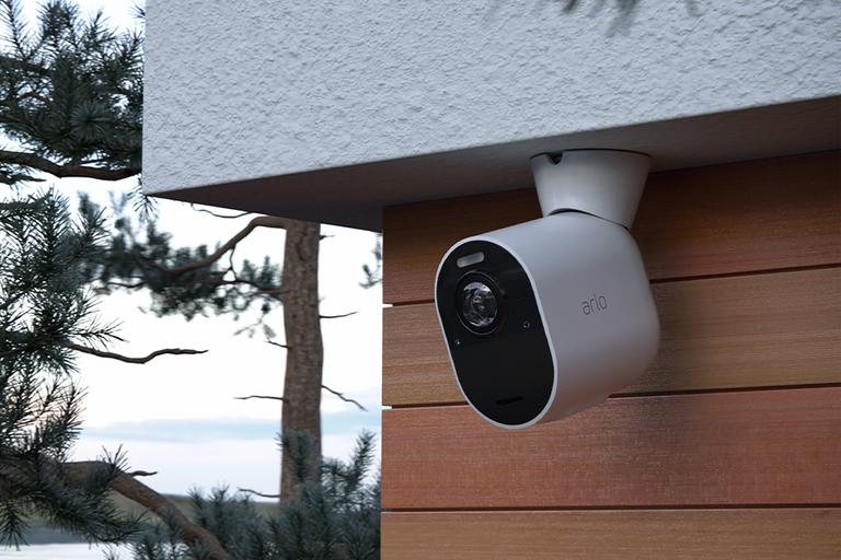 Home security camera.