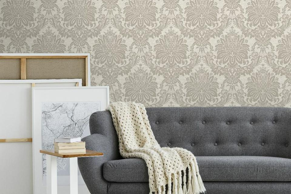 Wallpaper Ideas For Living Room Feature Wall.Wallpaper For A Feature Wall Argos
