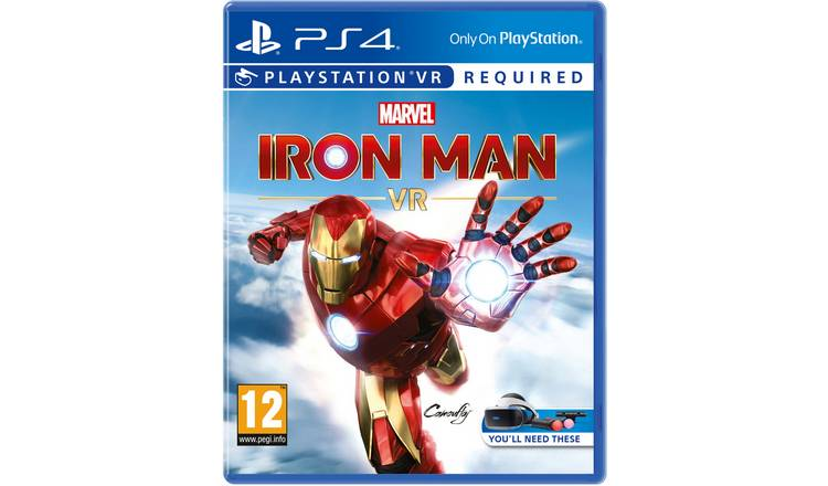 Marvel's Iron Man VR PS VR Game (PS4)