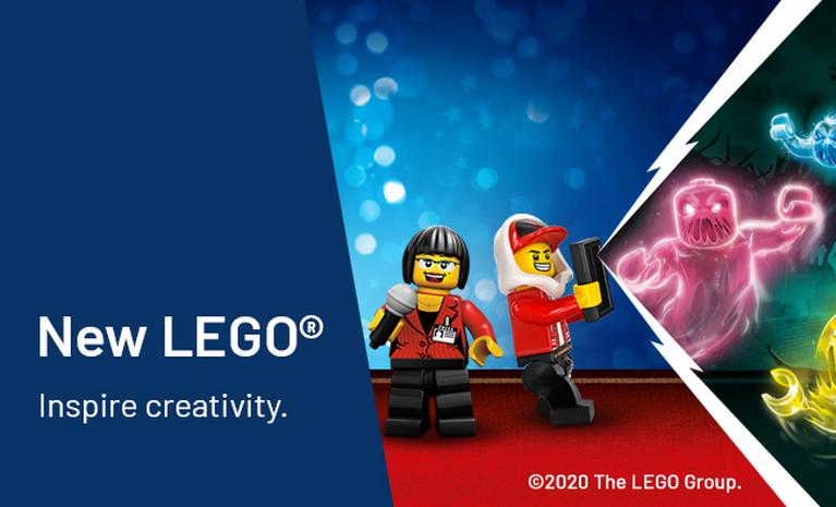 New LEGO Inspire creativity.