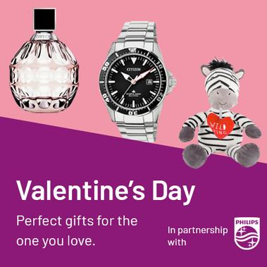 Valentine's Day. Perfect gifts for the one you love.