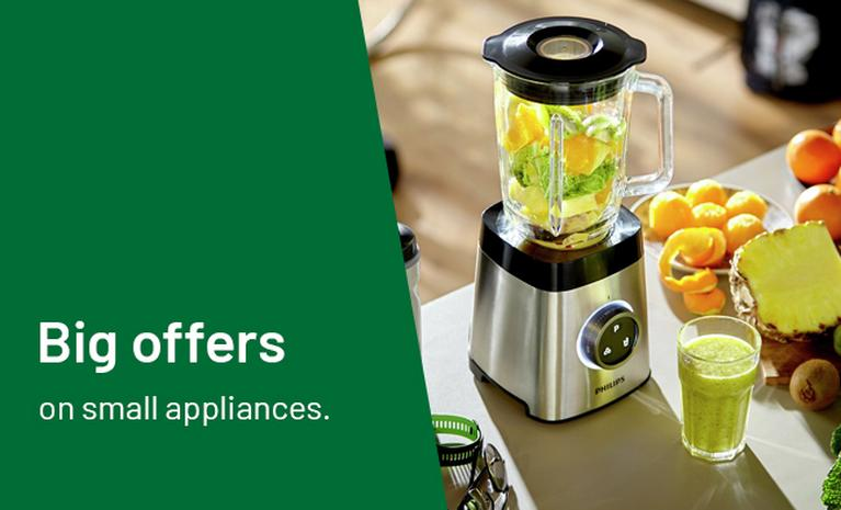 Big offers on small appliances