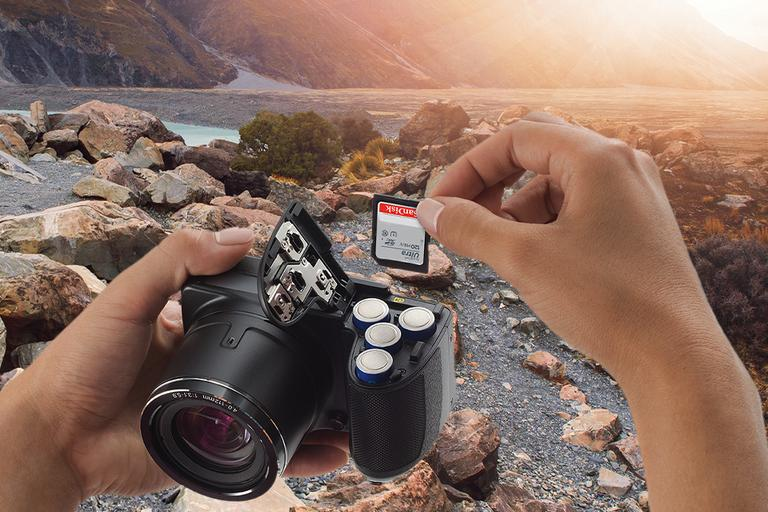 SanDisk at Argos. We'll help you shoot, store and share every experience.