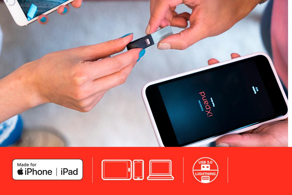 SanDisk for iOS - iXpand™ Flash Drive