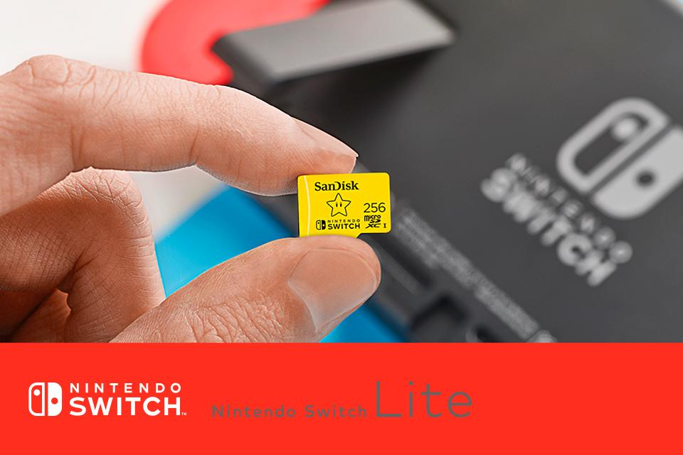 SanDisk® microSDXC™ card for Nintendo Switch™