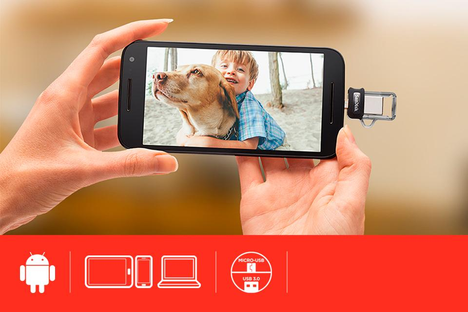 SanDisk for Android™ - SanDisk Ultra® Dual Drive m3.0.