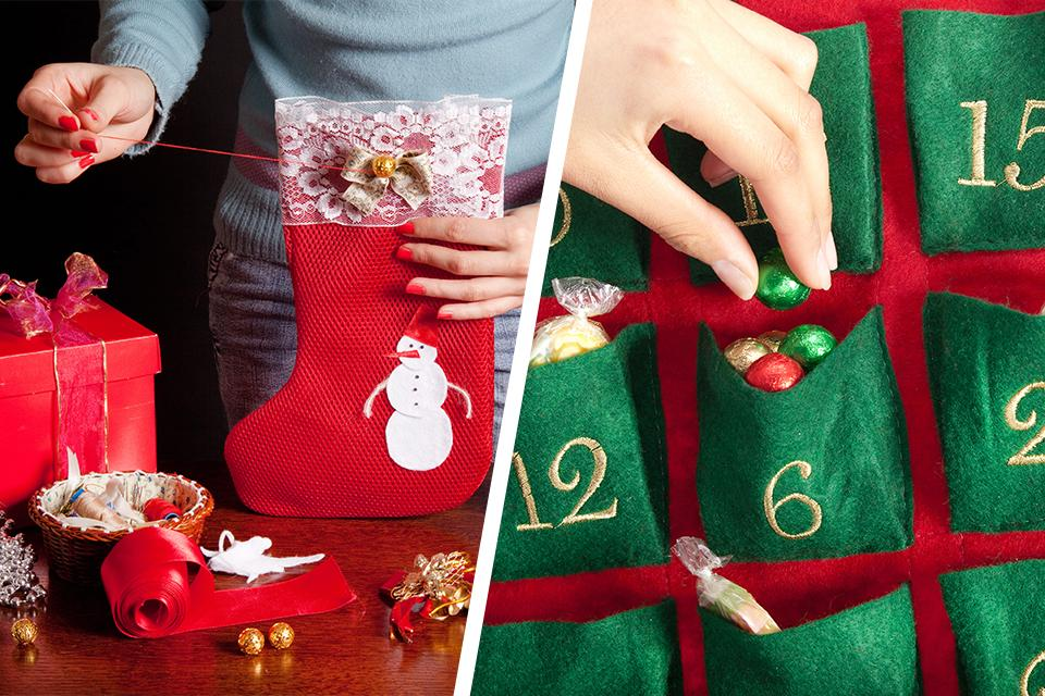 Christmas sewing projects.