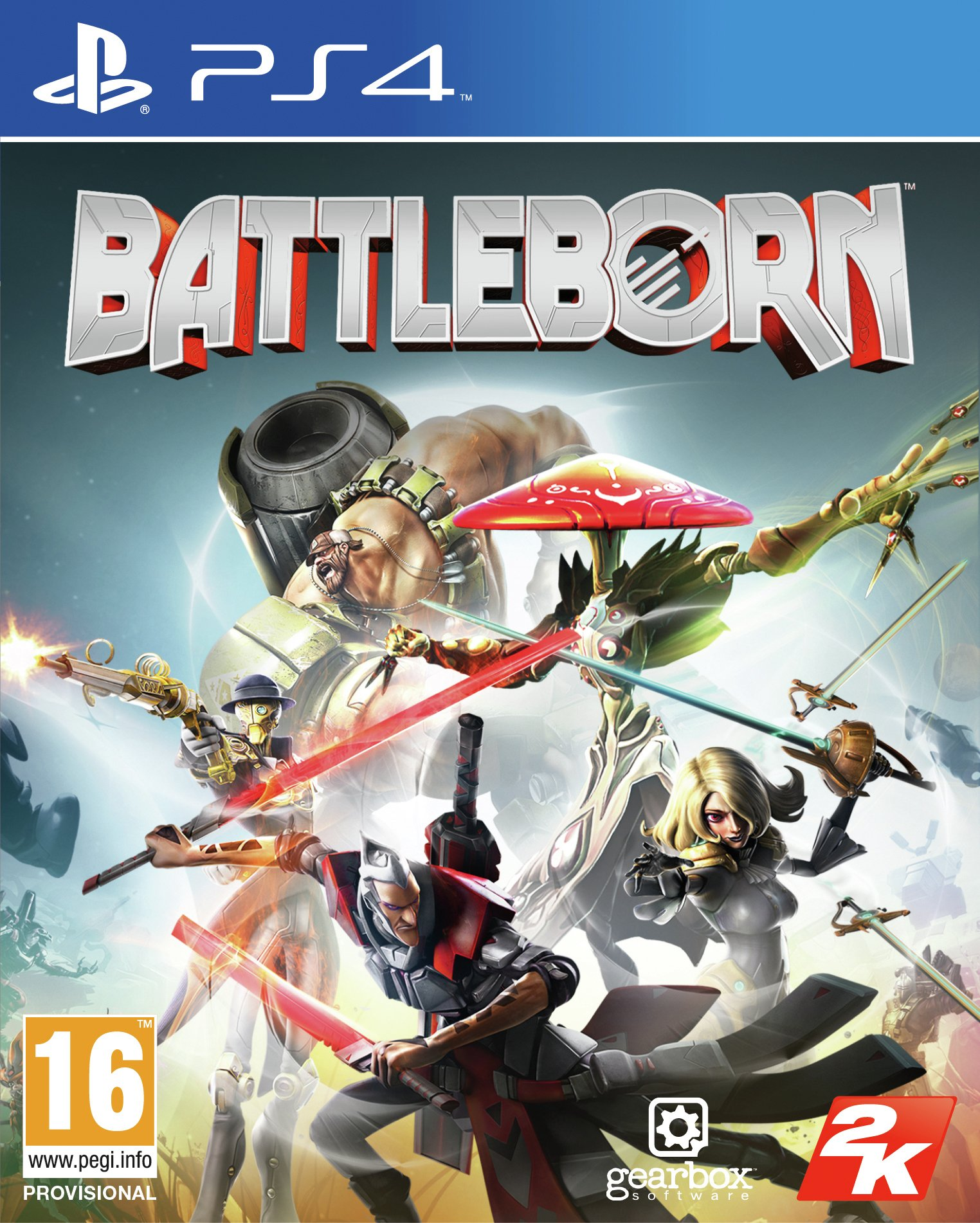 Image of Battleborn - PS4 Game.
