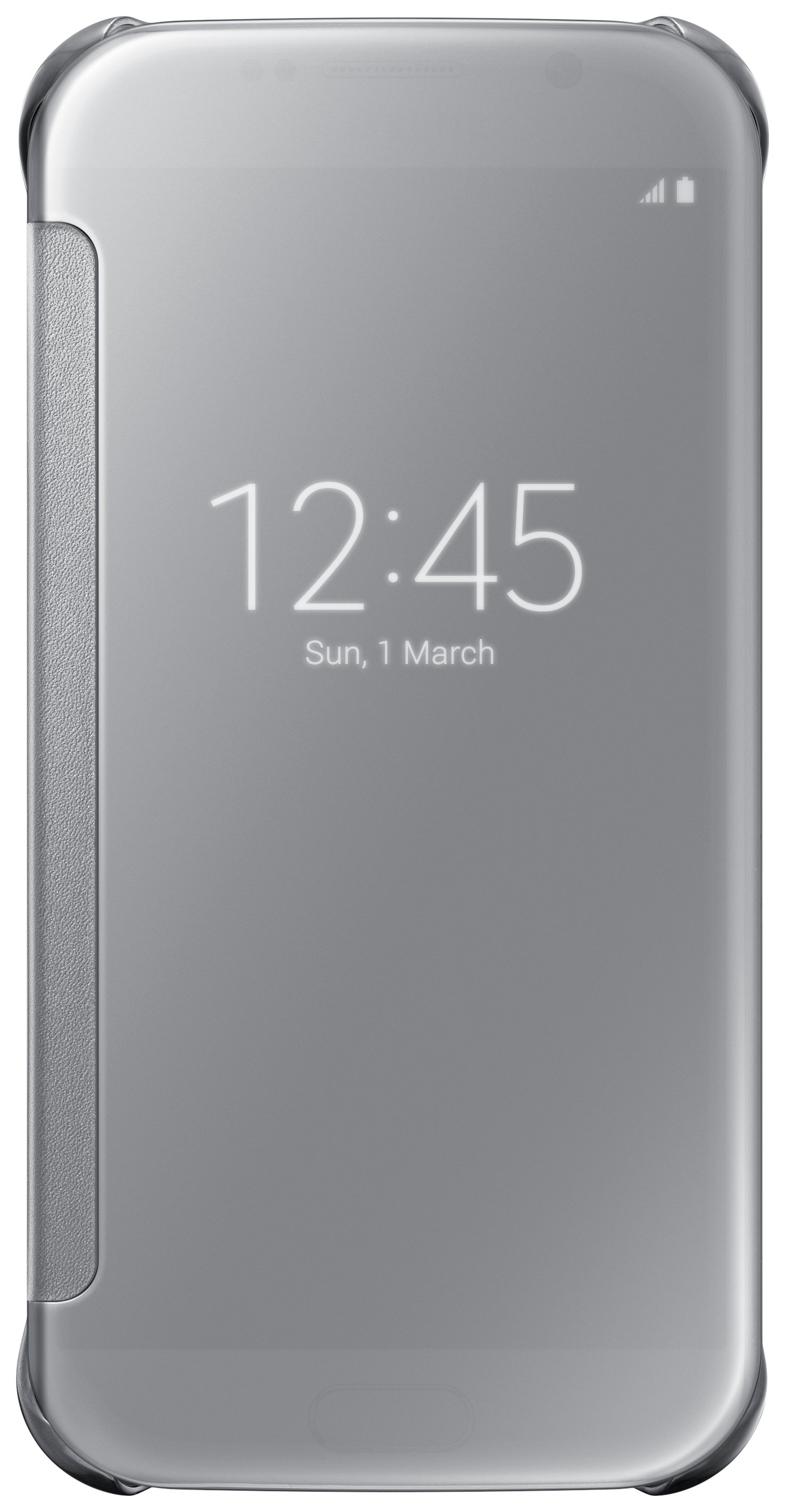 Samsung Samsung Galaxy S6 Clear View Cover - Silver