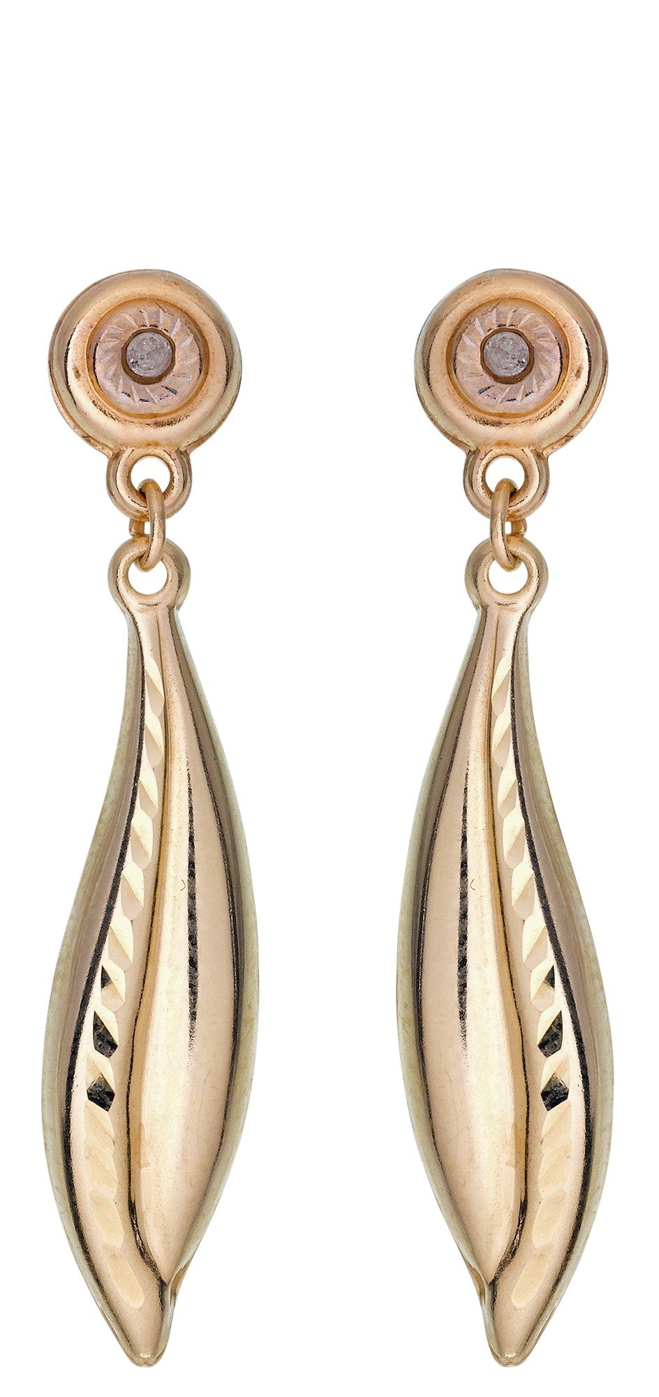 9 Carat White Gold Earrings  wearberrycom